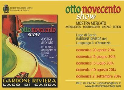 Otto Novecento Show a Gardone Riviera