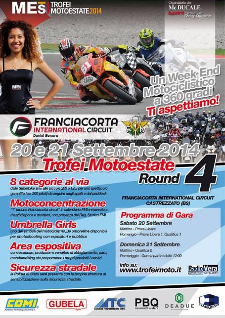 Round 4 Trofei Motoestate a Castrezzato