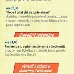 Sagra del Quarantì a Roccafranca 2014 programma 3