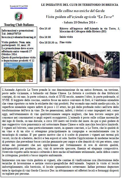 Sulle Colline Moreniche del Garda con TCI