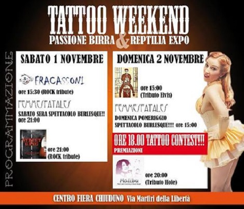 Tattoo Weekend Chiuduno Complessi