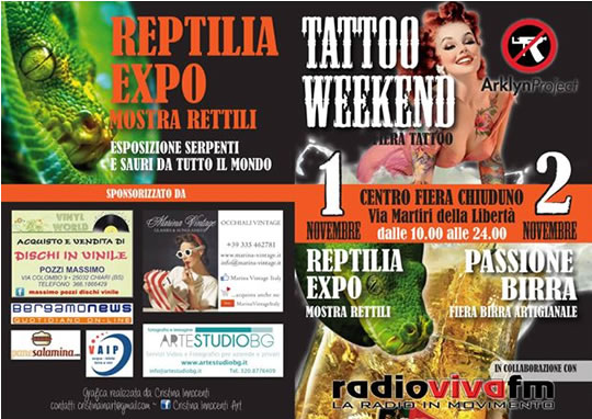 Tattoo Weekend a Chiuduno (BG)