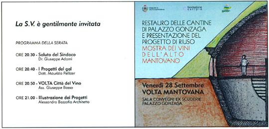 restauro delle cantine a Volta Mantovana