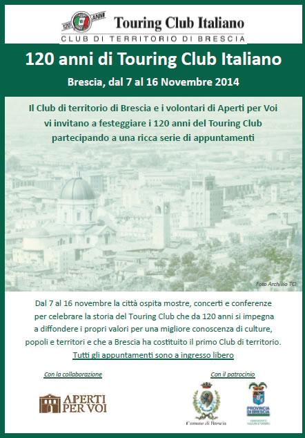 120 anni di Touring Club Italiano a Brescia