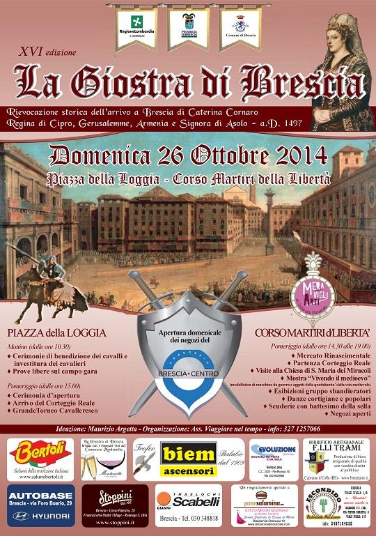 16 Giostra di Brescia 2014