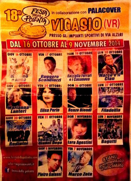 18° Festa della Polenta a Vigasio (VR)