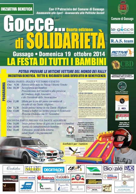 4° Gocce di Solidarietà a Gussago