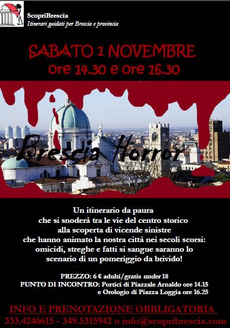 Brescia Horror con Scopri Brescia