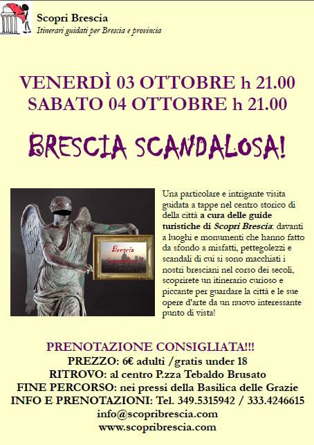 Brescia Scandalosa con Scopri Brescia