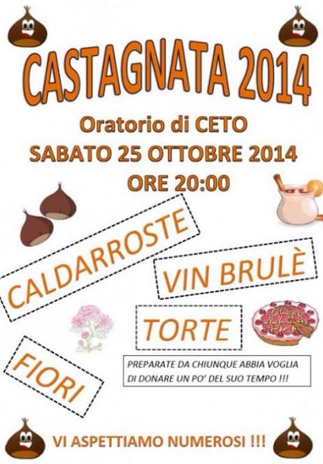 Castagnata 2014 a Ceto