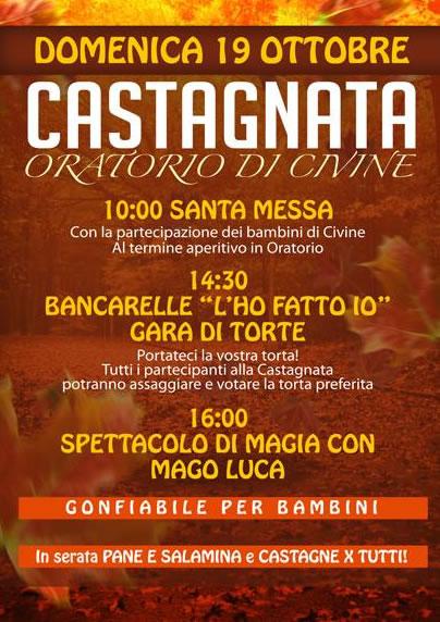 Castagnata a Gussago