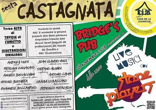 Castagnata al Bridges Pub Manerbio 2014