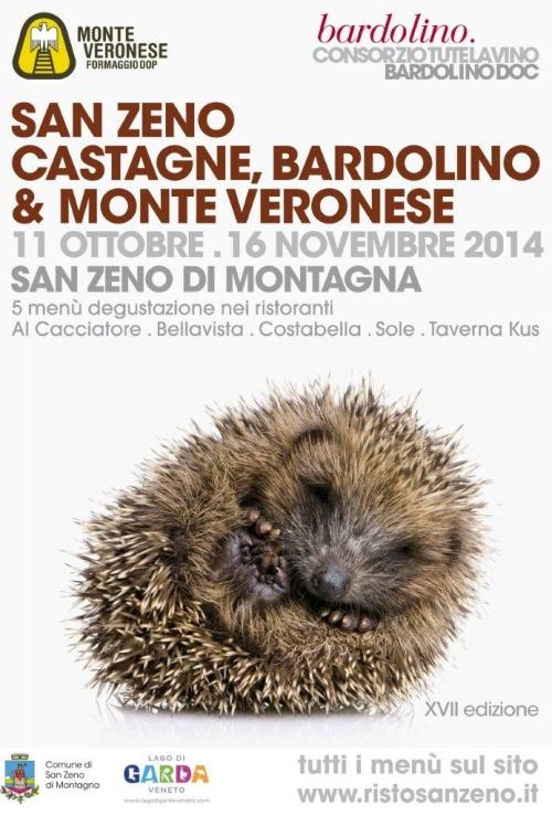 Castagne Bardolino e Monte Veronese a San Zeno 2014