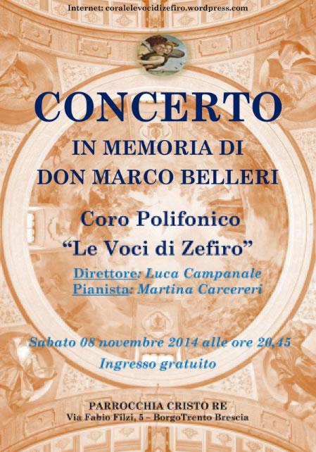 Concerto Coro Polifonico a Brescia