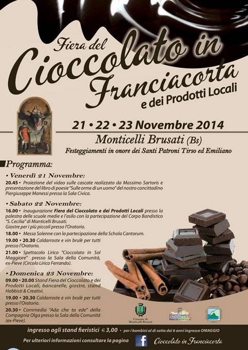 Fiera del Cioccolato in Franciacorta a Monticelli Brusati