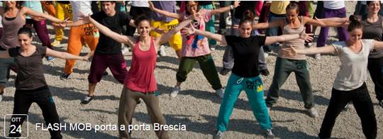 Flash Mob a Brescia