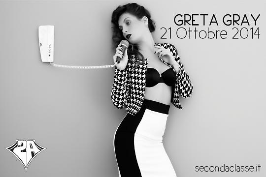 Greta Grey Seconda Classe -Regis