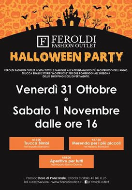 Halloween Party a Poncarale