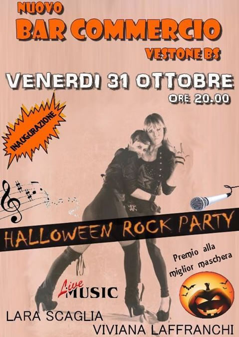 Halloween Rock Party a Vestone