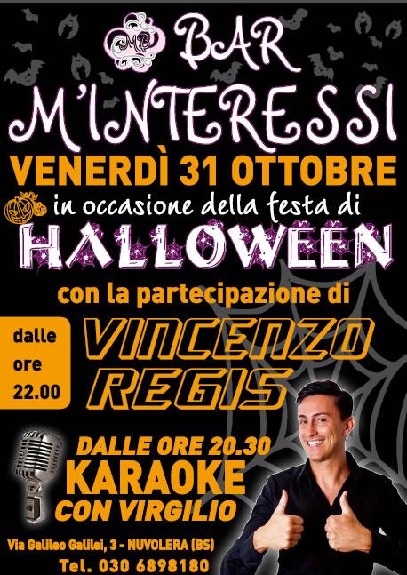 Halloween con Vincenzo Regis a Nuvolera