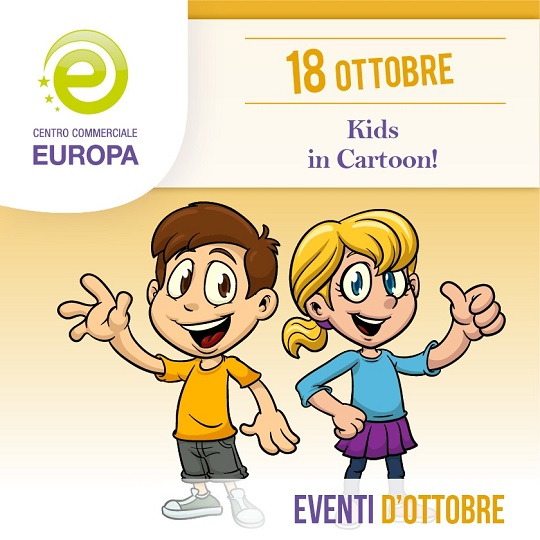 KIDS IN CARTOON al C. C. Europa di Palazzolo