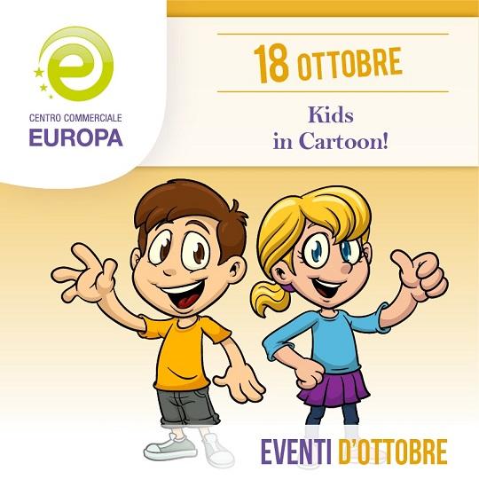 KIDS IN CARTOON al C. C. Europa di Palazzolo