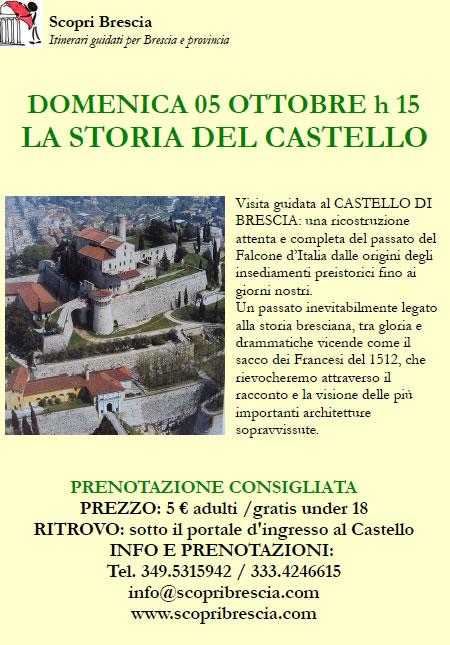 La Storia del Castello con Scopri Brescia