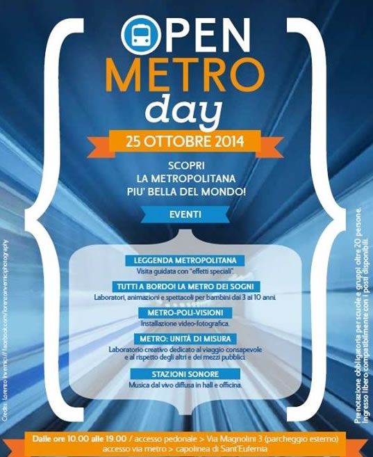 Open Metro Day a Brescia