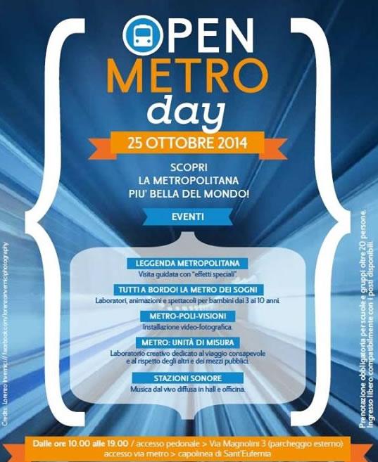 Open Metro Day a Brescia