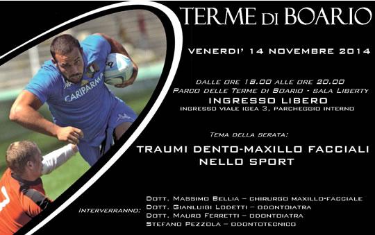 Serata Sport e Salute a Boario Terme