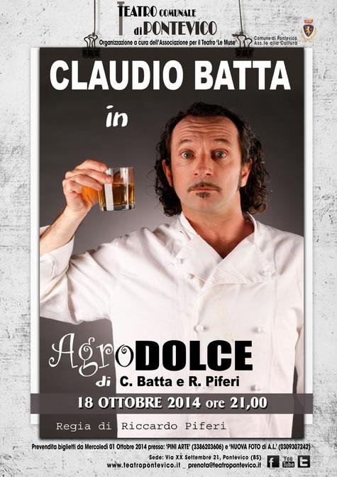 Spettacolo di Claudio Batta a Pontevico