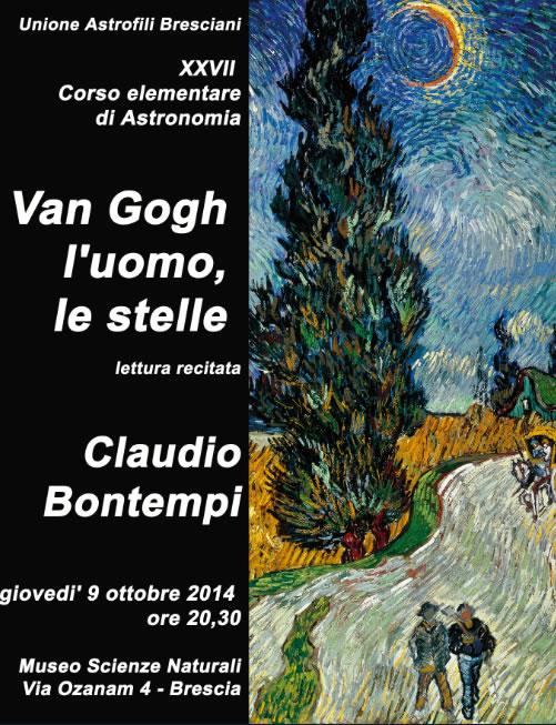 Van Gogh, l'Uomo, le Stelle a Brescia
