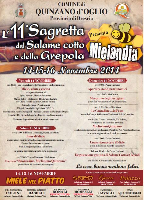 11° Sagretta del Salame Cotto e della Grepola a Quinzano d'0