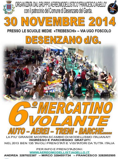 6° Mercatino Volante a Desenzano