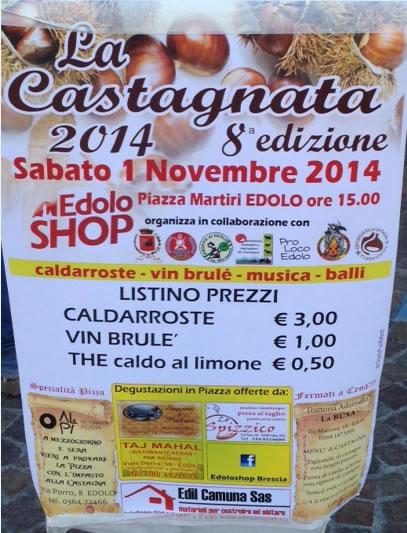 8° Castagnata a Edolo