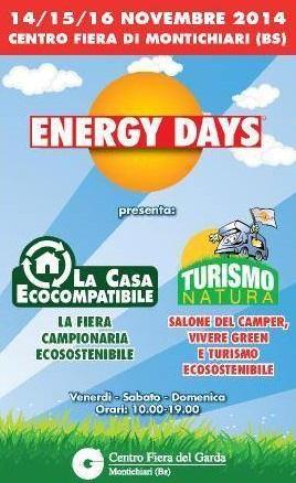 Energy days Montichiari 2014