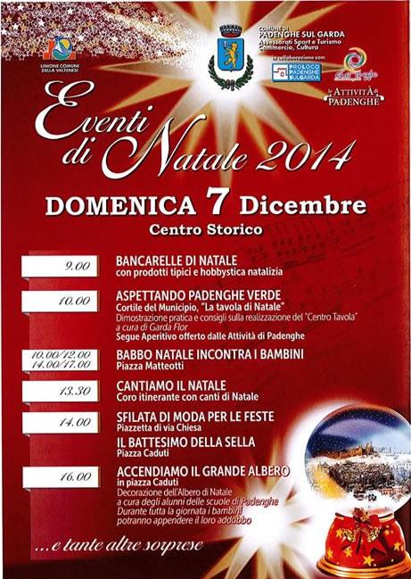 Eventi di Natale 2014 a Padenghe