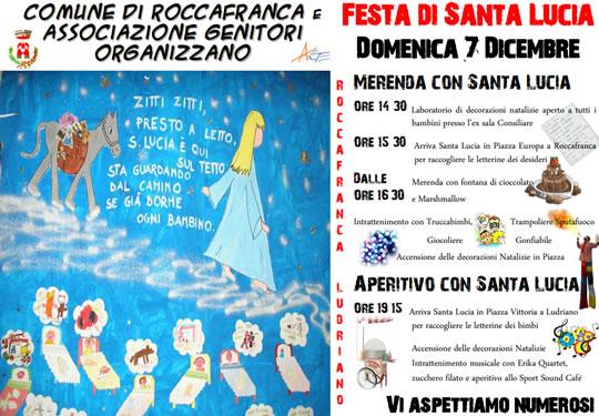 Festa di Santa Lucia a Roccafranca