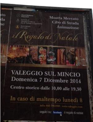 Il Regalo di Natale a Valeggio sul Mincio (VR)