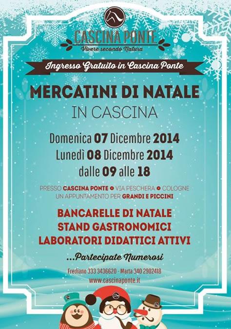Mercatini di Natale in Cascina a Cologne