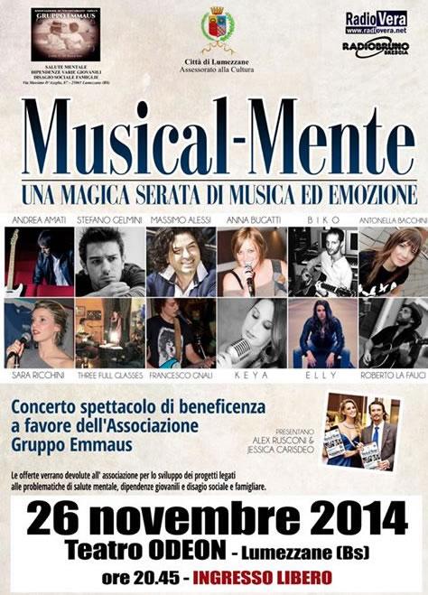 Musical-Mente a Lumezzane