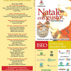 Natale con Gusto 2014 a Iseo