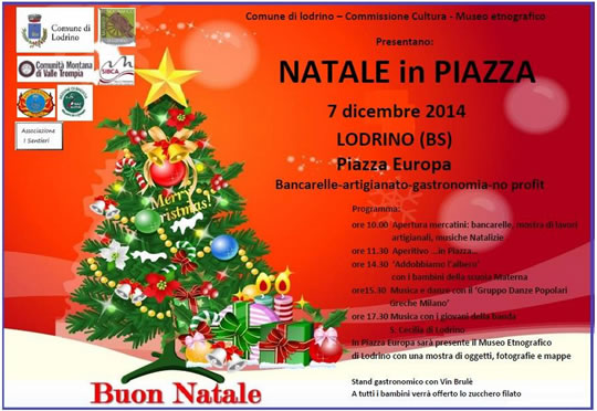 Natale in Piazza a Lodrino
