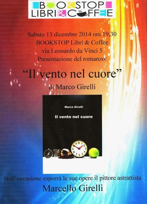 Presentazione Libro Il Vento nel Cuore a Brescia
