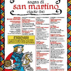 Sagra di San Martino 2014 a Cigole