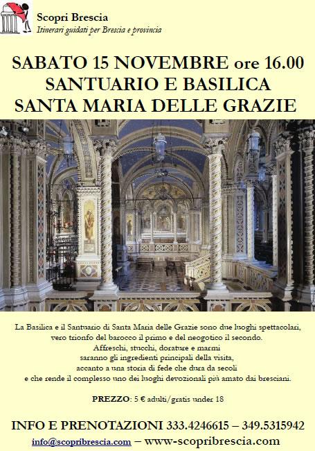 Santuario e Basilica Santa Maria delle Grazie con Scopri Brescia