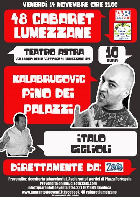 Spettacolo di Cabaret a Lumezzane