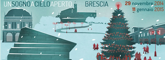 Tempo di Natale 2014 a Brescia