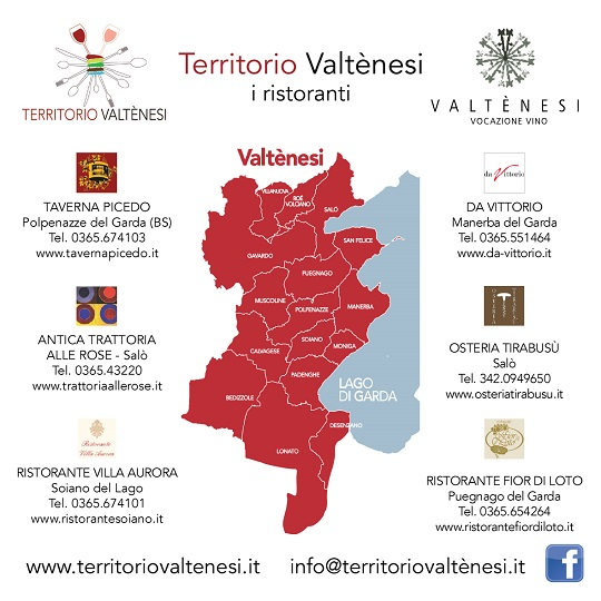 Territorio Valtenesi 2014 ristoranti