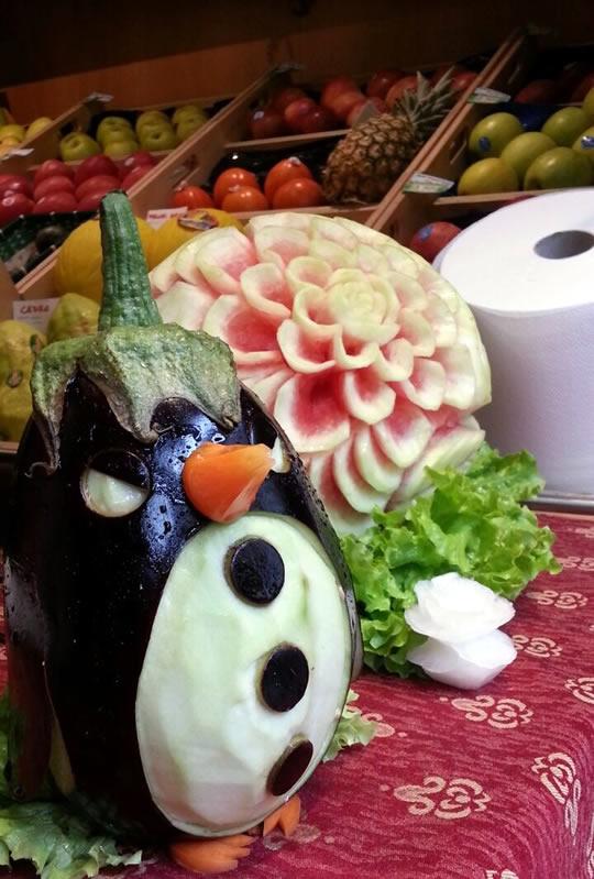 fruit carving a Brescia